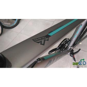 Xe đạp thể thao Alcott City 700 Đen