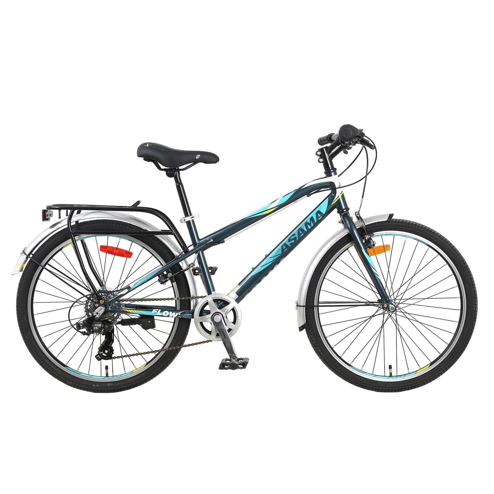 Xe đạp thể thao Asama TRK - FL 2401( XÁM )