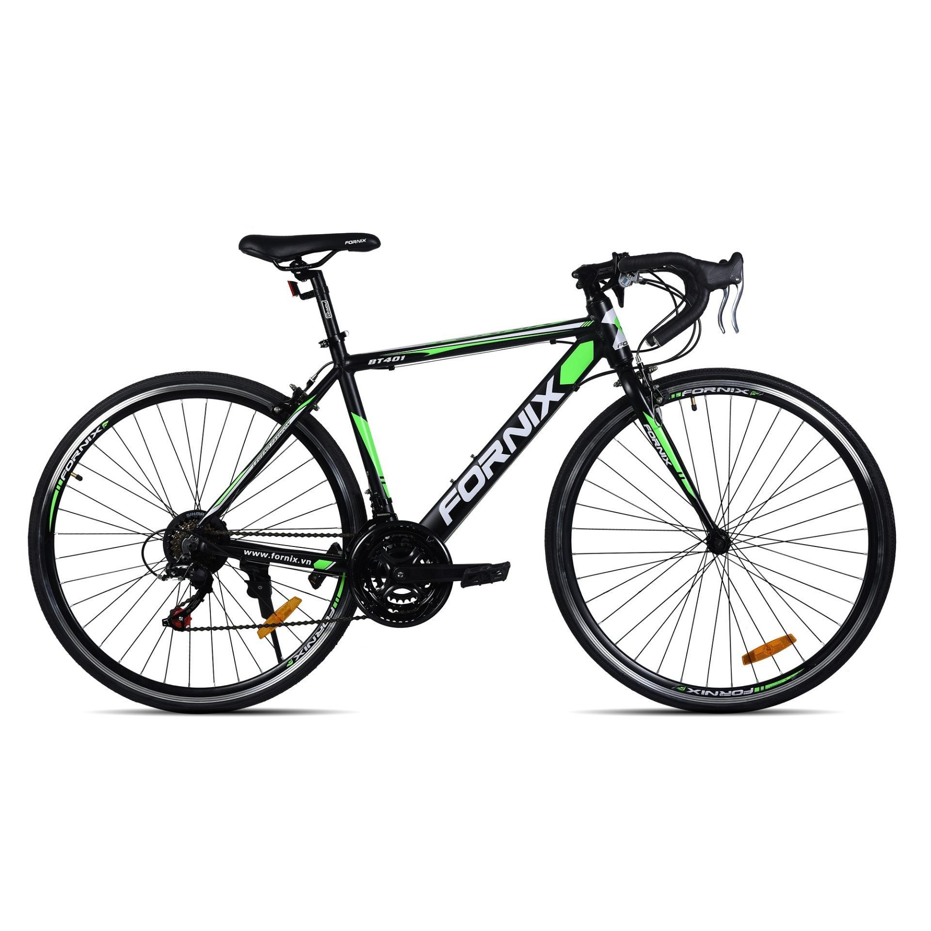 Xe đạp thể thao Fornix- BT401 (màu đen xanh lá)