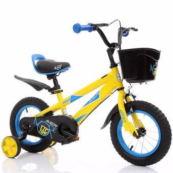 Xe đạp trẻ em Aier 7 cỡ 12 inch (Vàng)