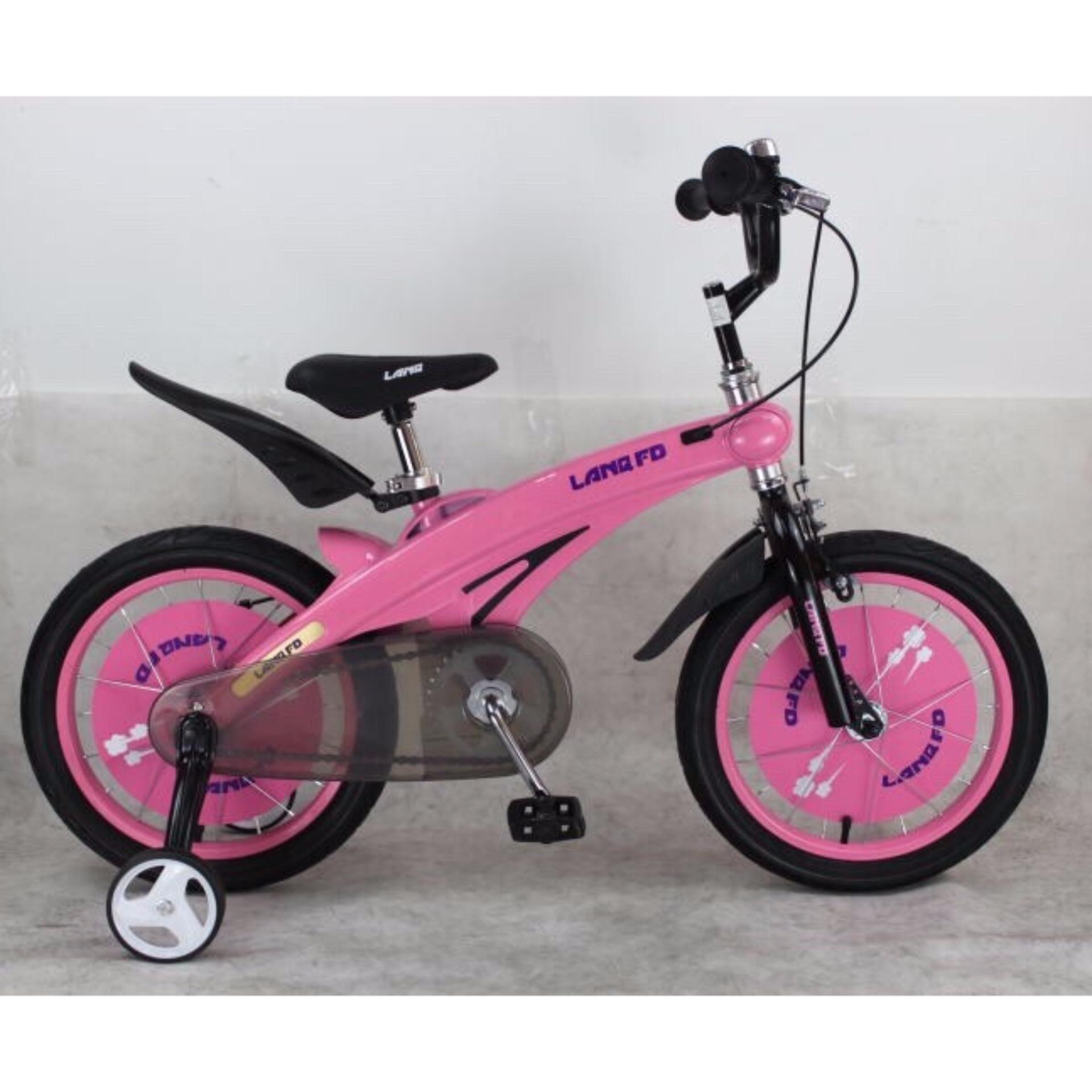 Xe đạp trẻ em LANQ FD1439 2017 (Hồng)
