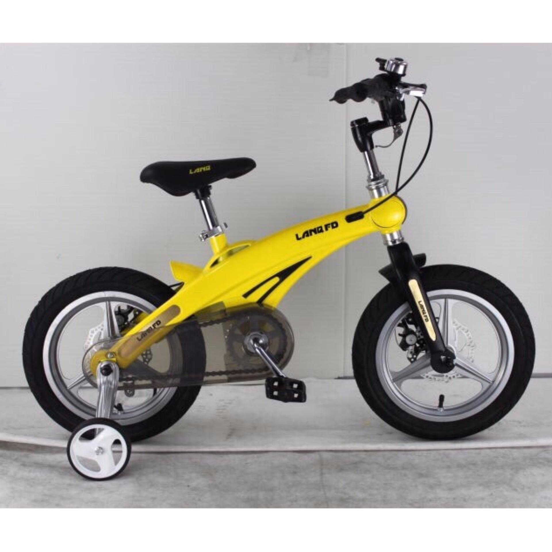 Xe đạp trẻ em LANQ FD1640 2017 (Vàng)