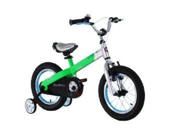 Xe đạp trẻ em Royal Baby Buttons Aluminum RB12-B16 Xanh lá