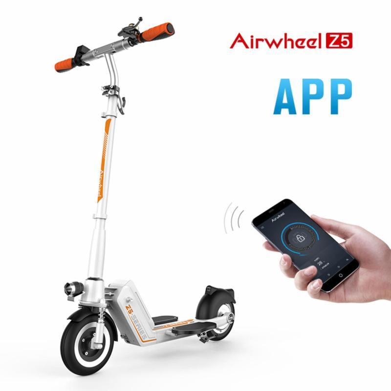 Xe scooter điện gấp Airwheel Z5 (trắng)