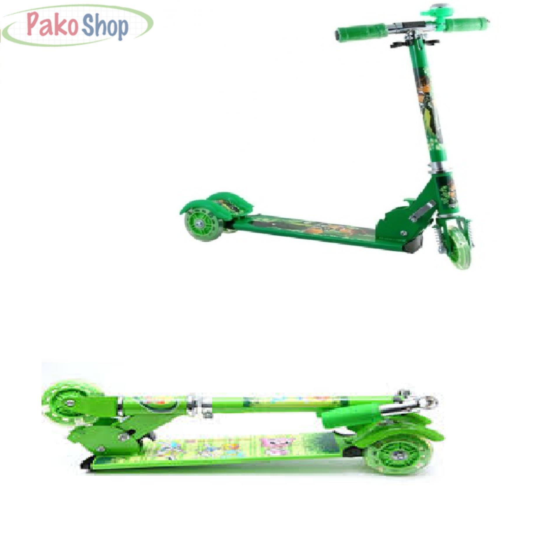 Xe Trượt Scooster Gấp Gọn (Xanh)