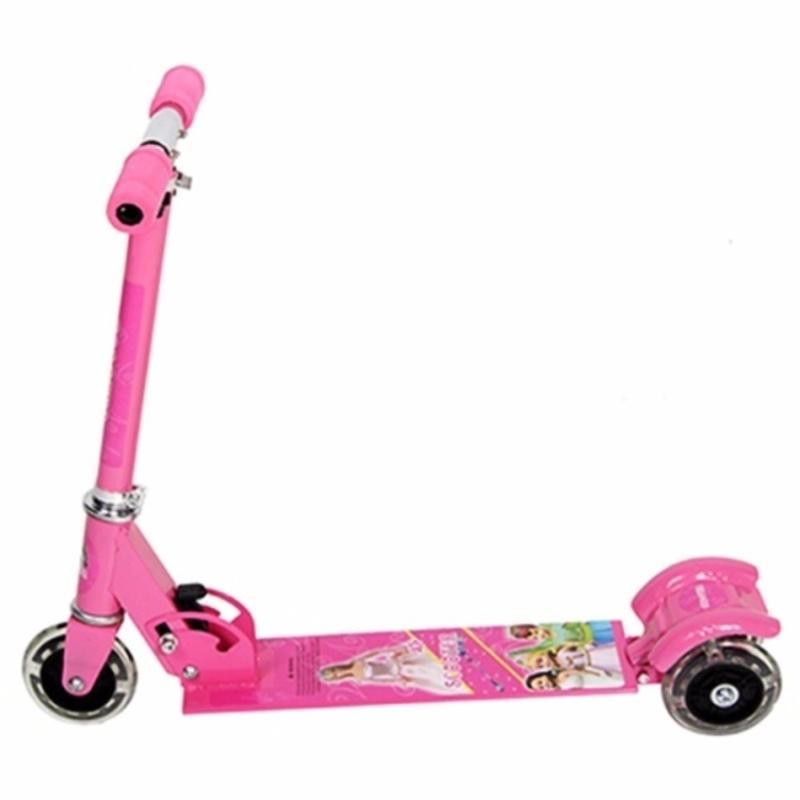 Xe trượt Scooter 3 bánh trẻ em + Tặng 01 bộ 4 dụng cụ búi tóc