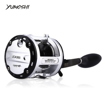 YUMOSHI 12 + 1 Ball Bearings Cast Drum Fishing Reel���right hand 300���- intl