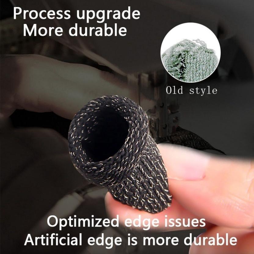 [MẪU MỚI] Bộ bao 2 ngón tay chuyên dụng chơi game mobile chống ra mồ hôi tay, chất liệu sợi carbon thoáng mát, cảm ứng cực nhạy, độ co giãn cao 6