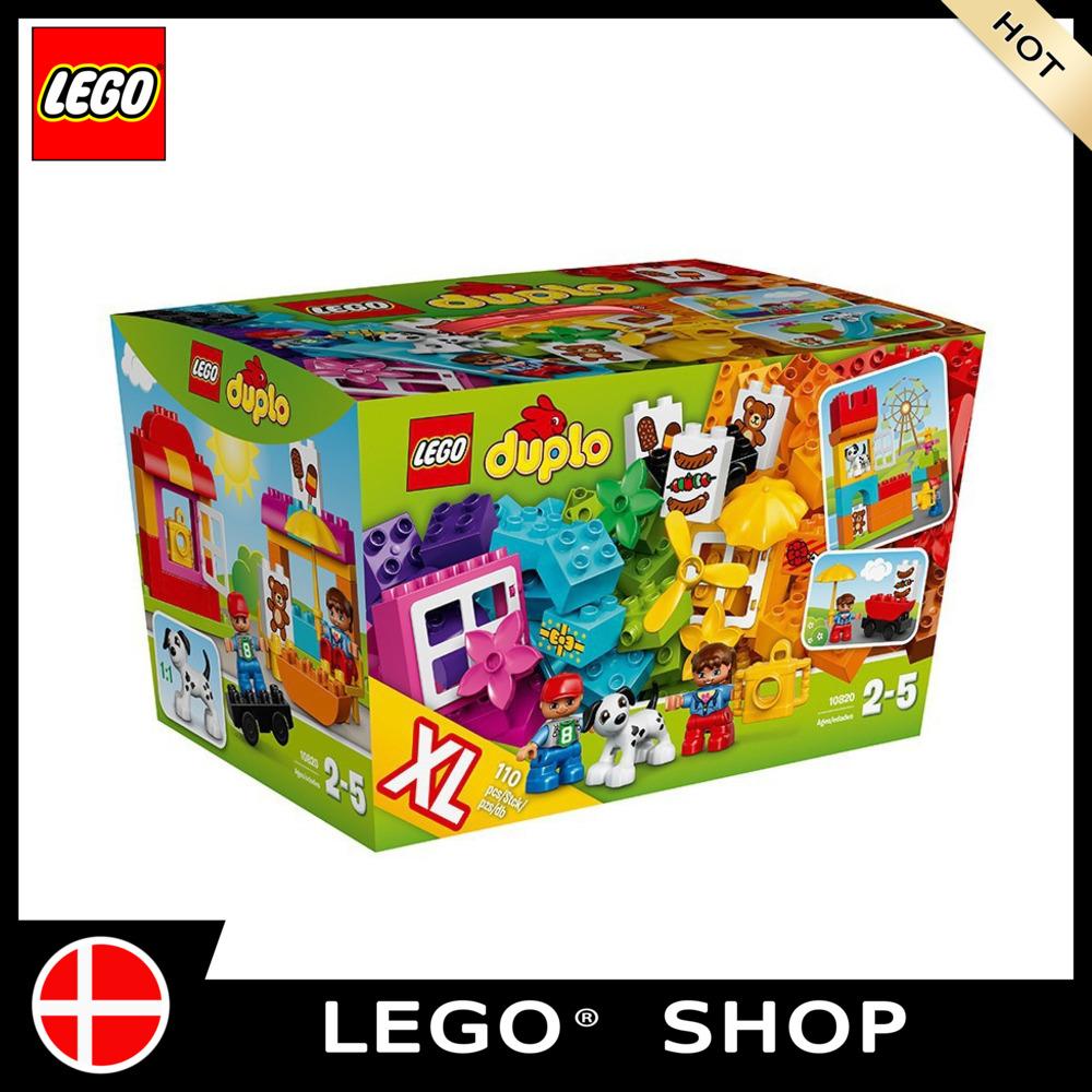 【Mall】LEGO Duplo series 10820 LEGO Duplo creative building basket LEGO DUPLO building block toy Educational toys