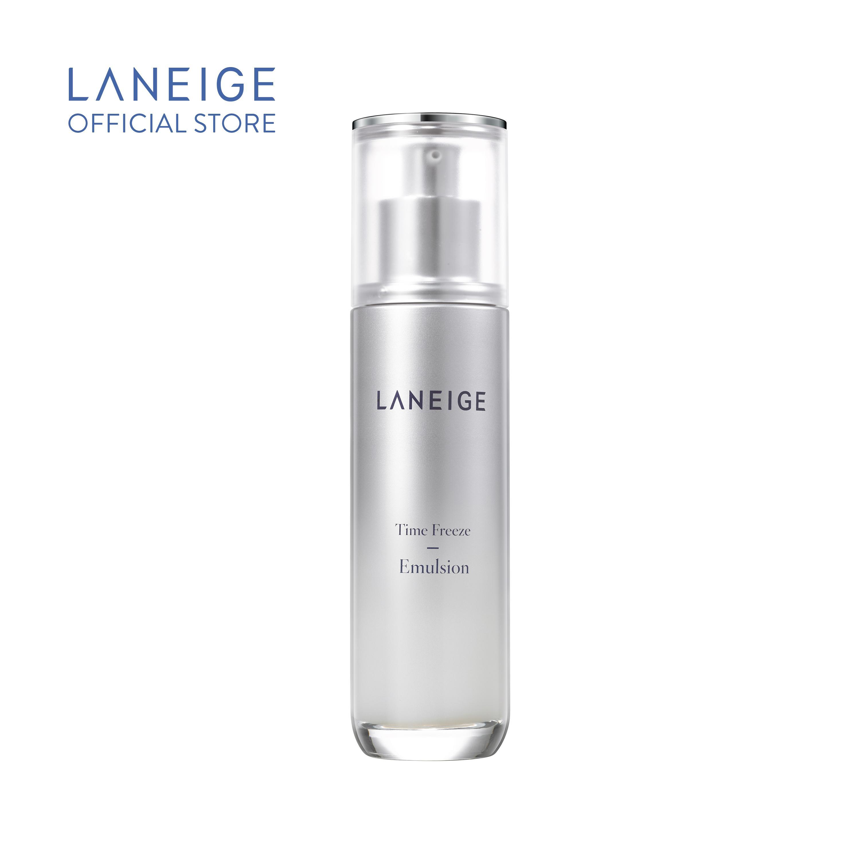 Sữa dưỡng ngăn ngừa lão hóa da hiệu quả mang đến làn da đàn hồi và săn chắc Laneige Time Freeze Emulsion 100ml