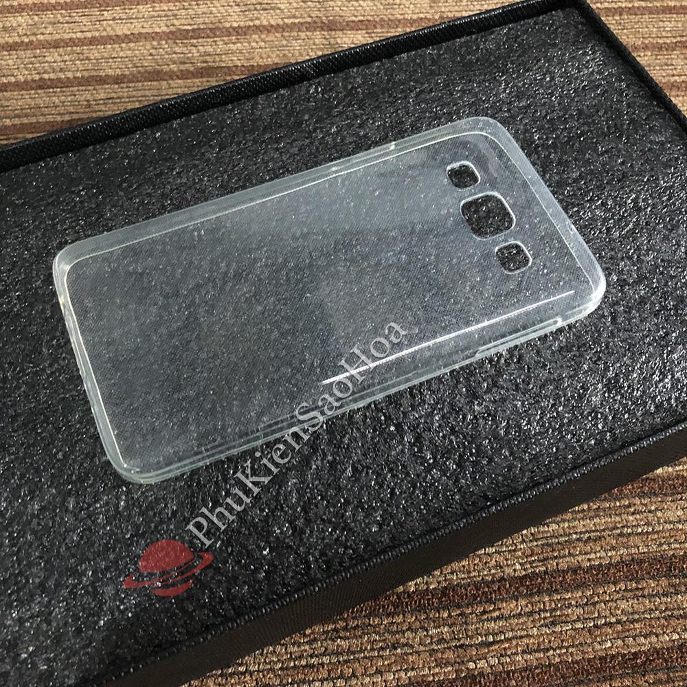 Ốp lưng dẻo trong cho Samsung A3 (Trong suốt)