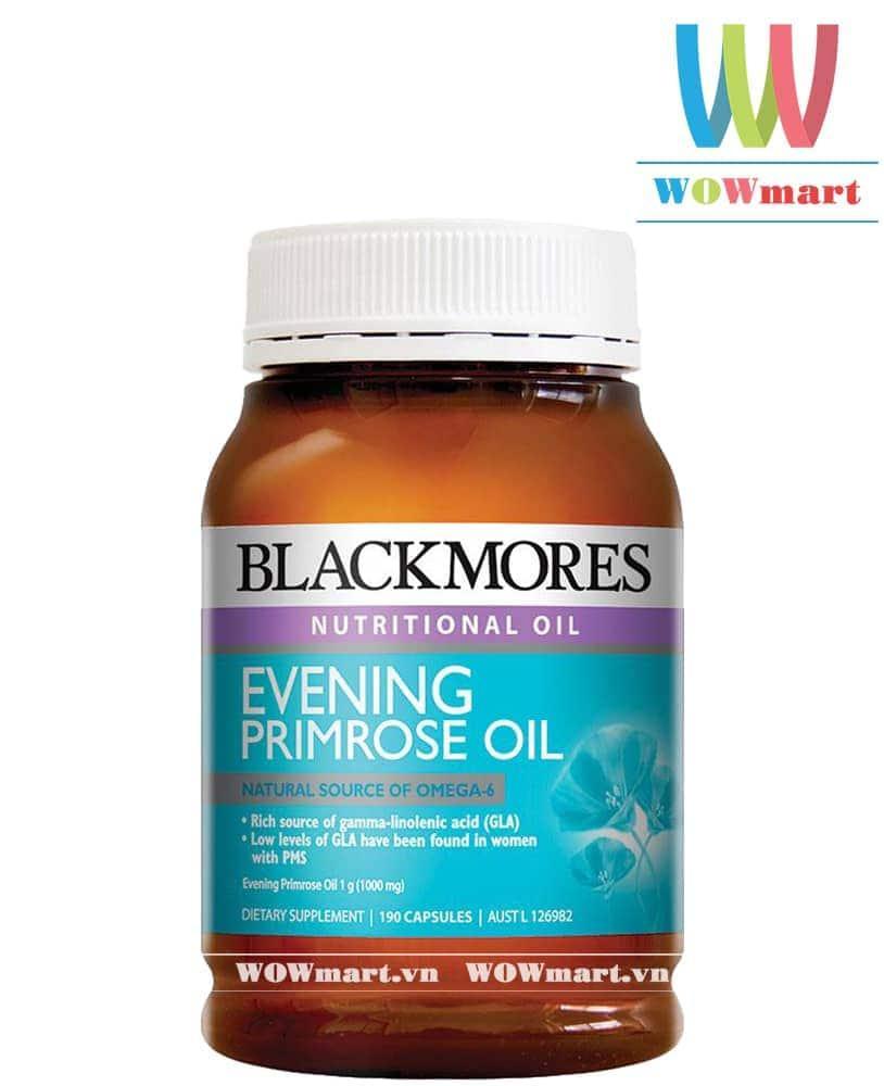 Tinh dầu hoa anh thảo Blackmores Evening Primrose Oil 190 viên - [ÚC]