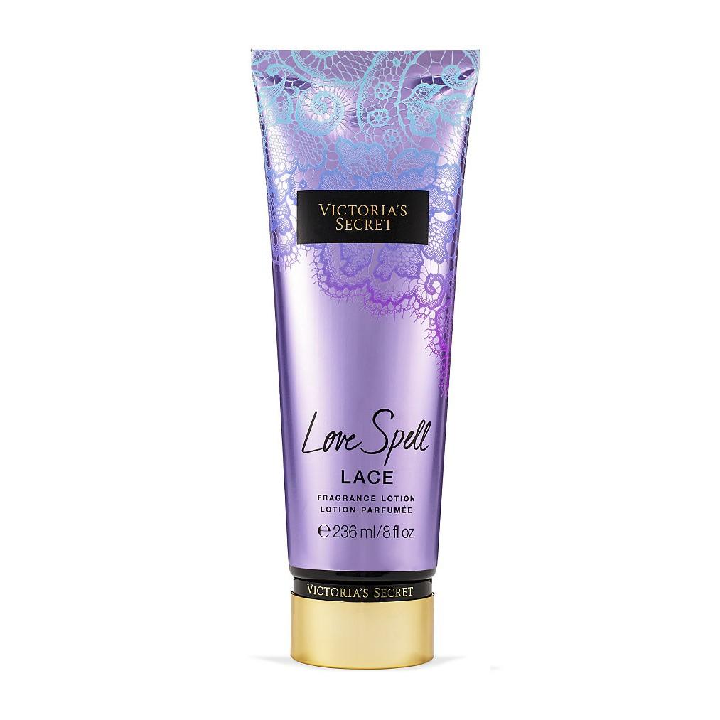 Dưỡng thể giữ ẩm da Victoria's Secret Fragrance Lotion Love Spell Lace 236ml (Mỹ)