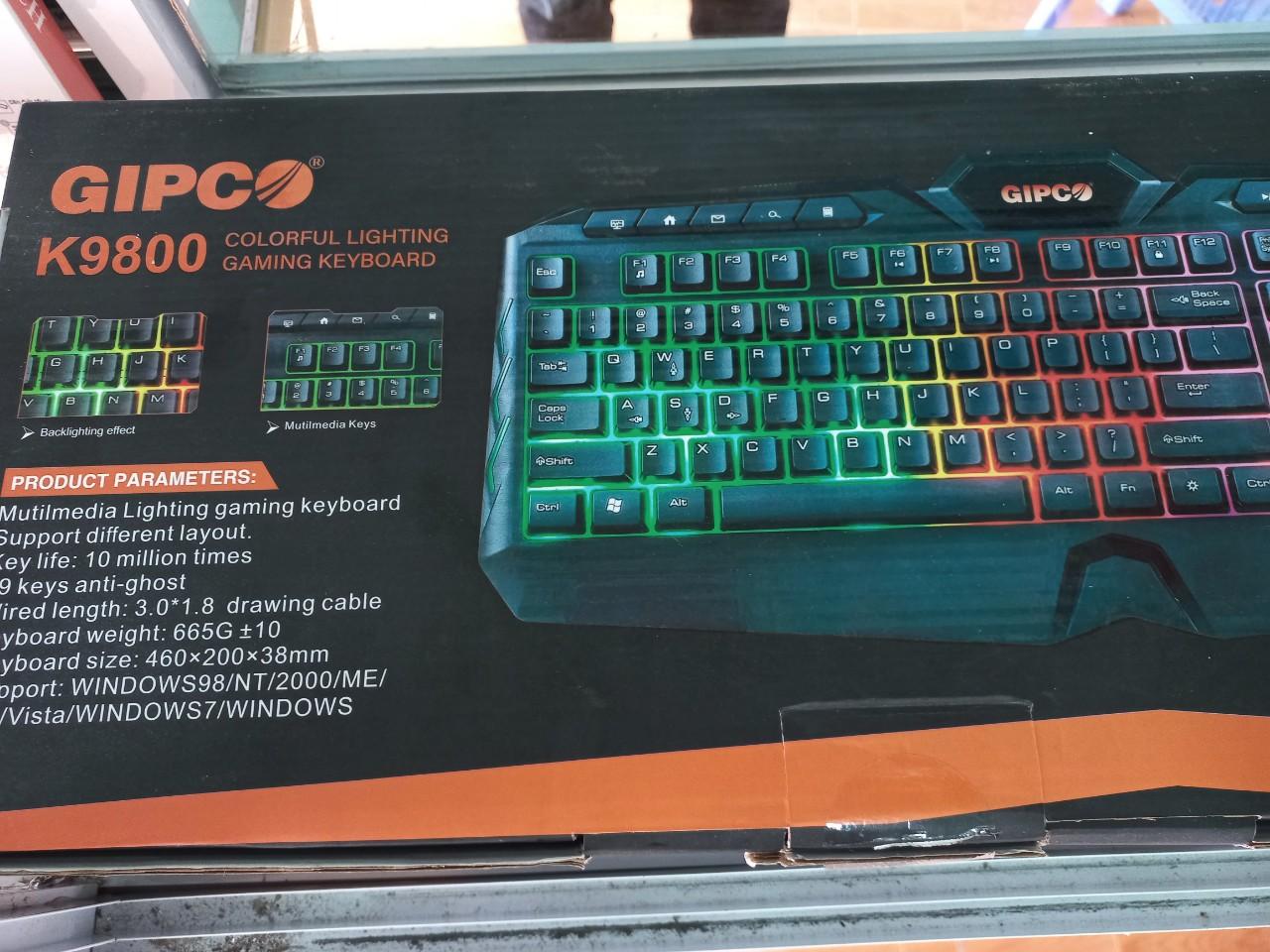 Bàn phím GIPCO K9800