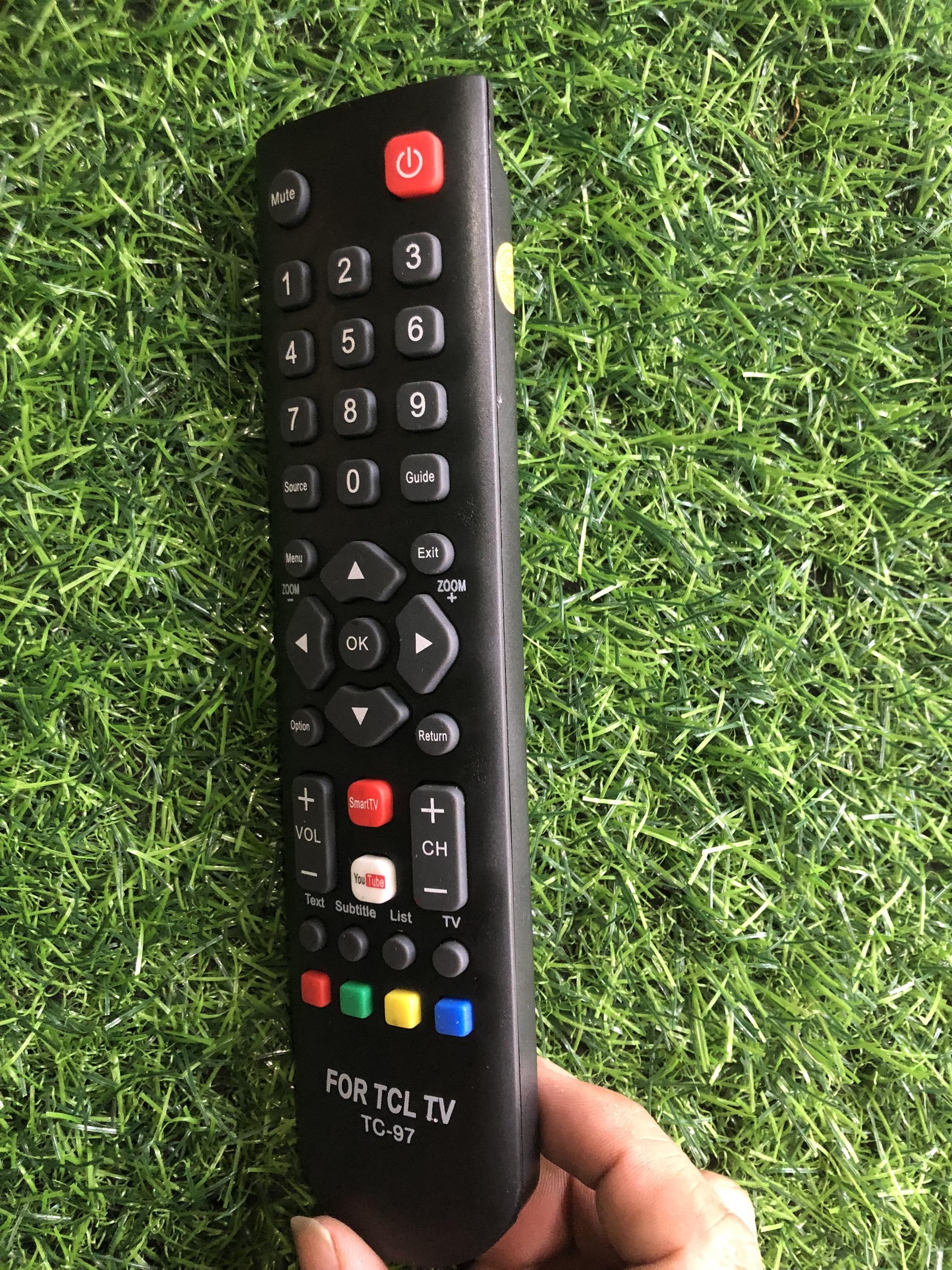 Điều khiển tivi TCL Smart internet RC200 vào mạng internet - tặng kèm pin ,Remote điều khiển tivi TCL Smart RC200 smart internet 5