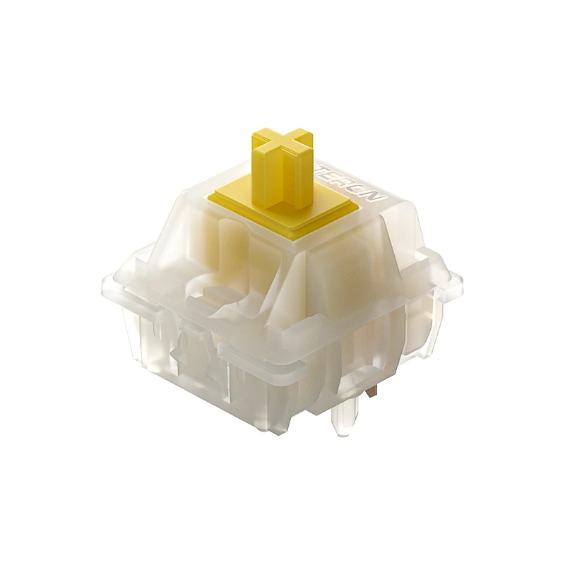 Gateron 5 pin Yellow Pro Switches SMD Linear Mechanical Keyboard Switch 3 Pin 5 Pin Pre-Lubed Keyboard Switch