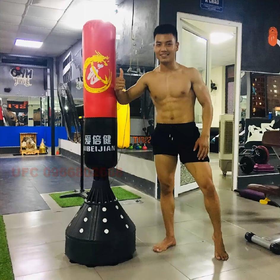 Bao Cát Boxing Tự Đứng tập đấm bốc - Ảnh 6