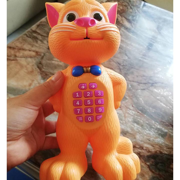Đồ Chơi Mèo Cảm Ứng Biết Nhại Giọng Nói Hát Và Kể Chuyện 2