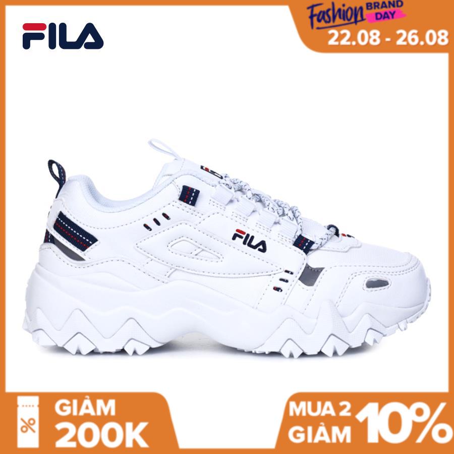 FILA Giày Sneaker Unisex Oakmont TR - BTS Global Inline 1JM00801