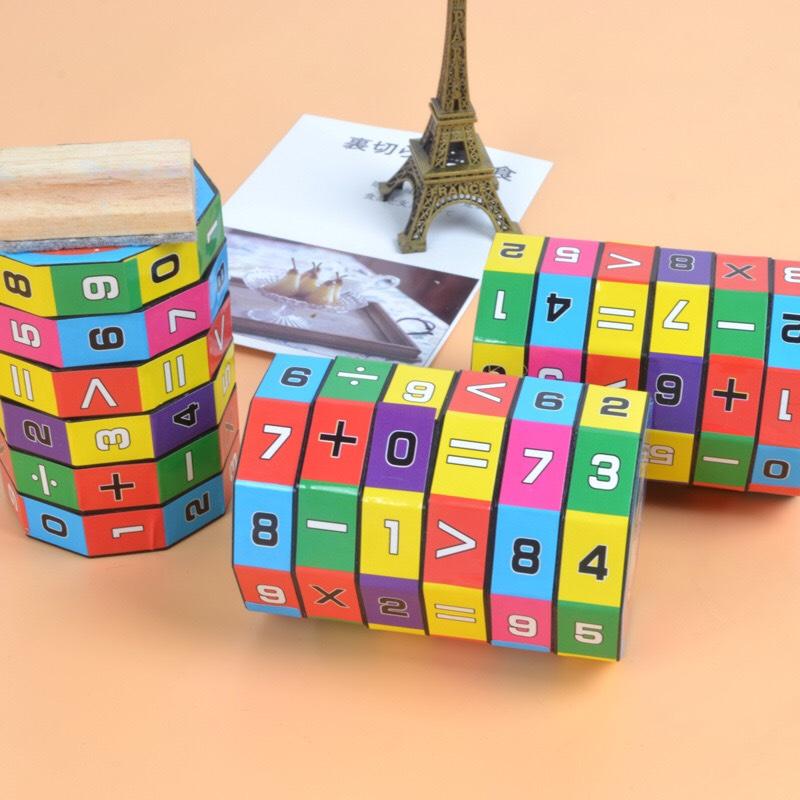 Đồ chơi trẻ em rubic toán học, phát triển khả năng tính toán, kích thích tư duy trí não phát triển cho bé từ 4 đến 8 tuổi 2