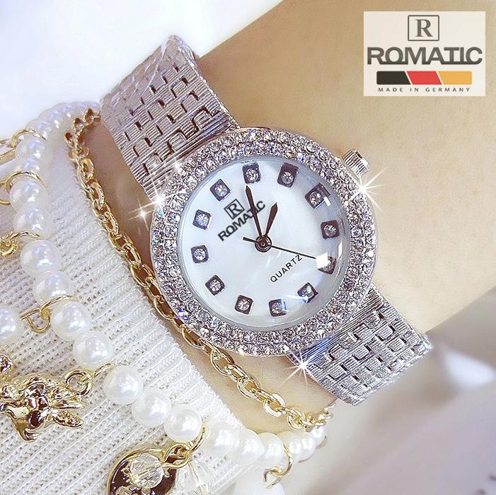 Đồng hồ nữ ROMATIC Mặt Xà Cừ Nhỏ Xinh Sang Trọng - Máy Nhật cao cấp - Tặng Kèm Pin ĐH Dự Phòng 6