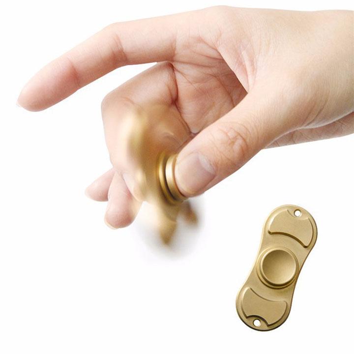 Đồ chơi con quay hồi chuyển Hand Spinner, 2 cánh đồng, giảm stress, căng thẳng, lo âu và bồn chồn - OT0552