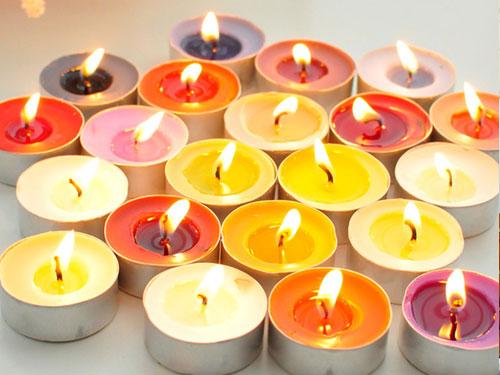 NẾN TEALIGHT KHÔNG MÙI, KHÔNG KHÓI LOẠI 1 - 100 viên cháy đến 4 tiếng dùng để đốt đèn xông tinh dầu, sinh nhật, hội nghị, nhà hàng, thờ cúng, tâm linh