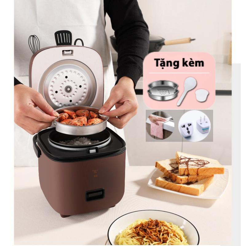 Hình ảnh Nồi cơm điện tử mini đa năng Jiashi cho 1-2 người - Noi com dien lòng chống dính thích hợp cho dân văn phòng, học sinh sinh viên - Hàng chính hãng - Nồi cơm mini có thể nấu canh, nấu cháo, làm bánh, sữa chua,...