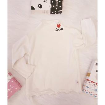 Cập Nhật Giá Áo cotton len bé gái cổ xoắn  Shop Nhà Bông 1