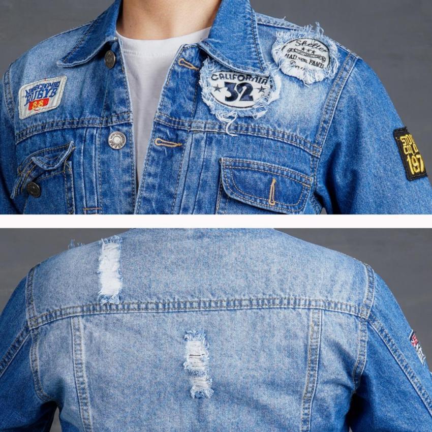 áo khoác nam a40 vá logo
