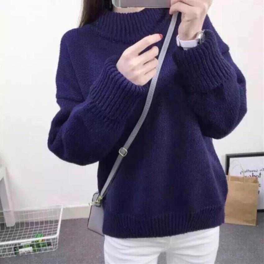 Áo len tiêu tay gấp nữ Quảng Châu - 6 màu hàng Quảng Châu L1