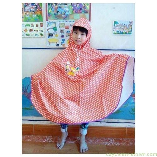 Áo mưa cánh bướm cho bé