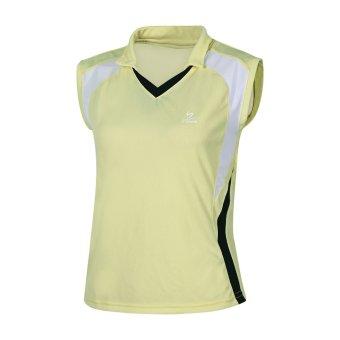 Áo tập gym, bóng chuyền, fitness cao cấp Shakano (Vàng).