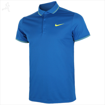 Áo thun Polo thể thao nam Nike As Court Polo 644777-446 (Xanh).