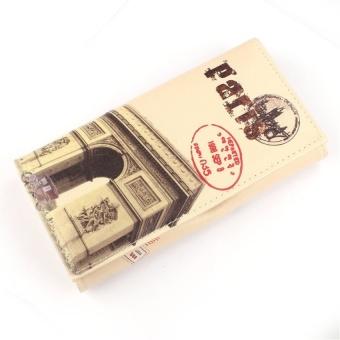 Arc De Triomphe Women Long Purse Clutch Wallet Bag Card Holder -intl