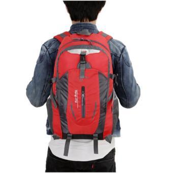 Ba Lô Trekking Vải Dù TV14 (Đỏ) + Gift
