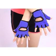 Bộ 2 găng tay tập gym GT41 (Màu xanh dương)