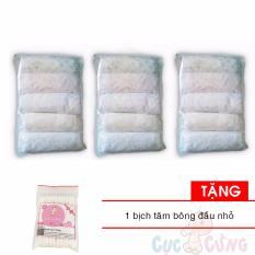 Chỗ nào bán Bộ 3 bịch Quần lót giấy Gummi – 5 cái/bịch Tặng 1 gói tăm bông đầu nhỏ Cục Cưng (quần có 3 size)