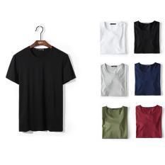 Giá Sốc Bộ 6 áo thun nam trơn co giãn cổ tròn ZAVANS ( 6 màu )  ZAVANS