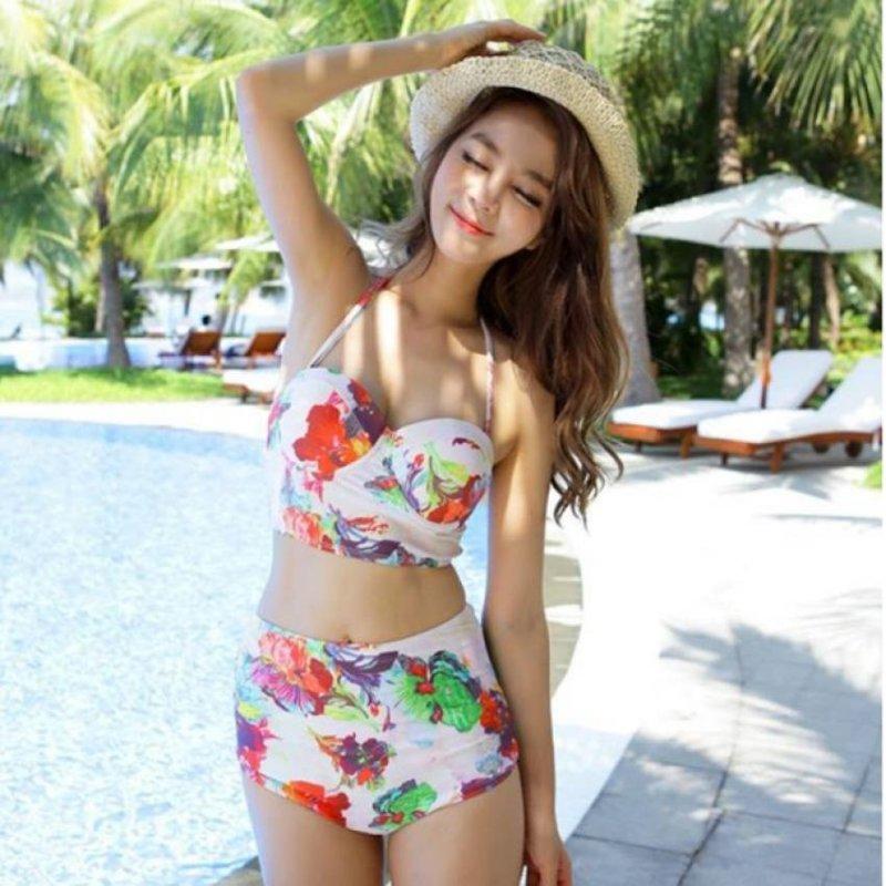 Nơi bán Bộ bikini in hoa quyến rũ nổi bật BI01 (họa tiết hoa)