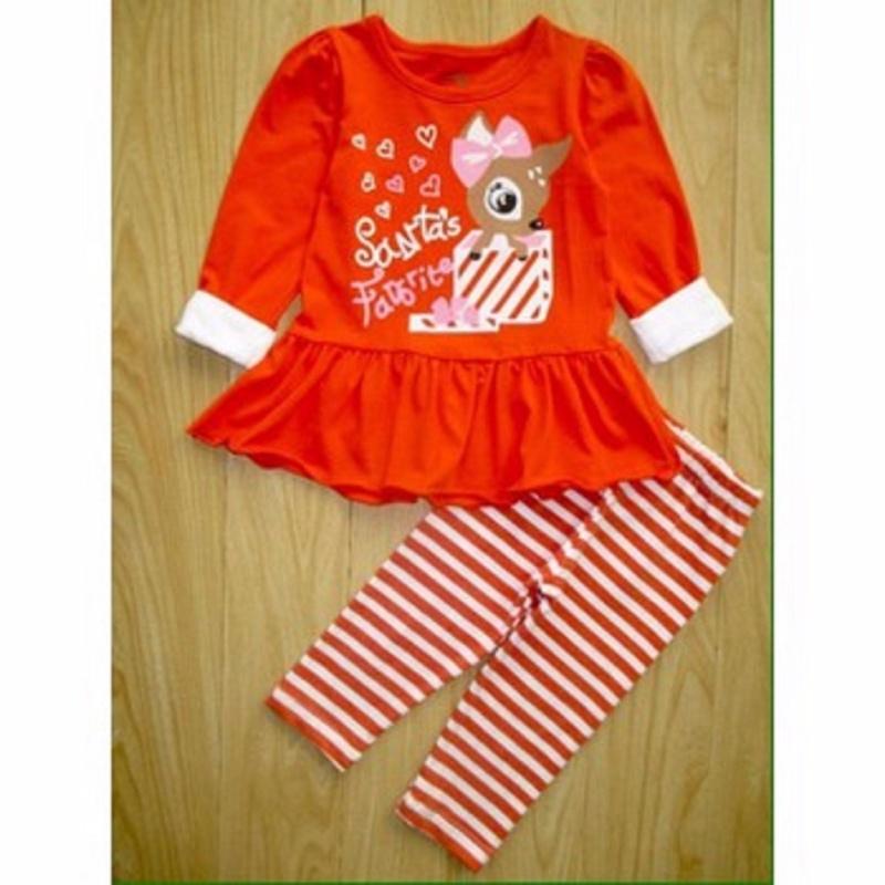 Nơi bán Bộ cotton mềm mịn Made in VN cho bé gái 1-7y