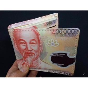 Bóp ví nam hình tờ tiền 200K