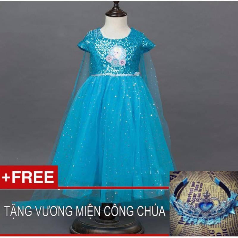 Giá bán đầm công chúa elsa kim tuyến