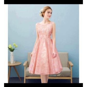 Đầm xòe công chúa-Đầm xòe thiết kế trang nhã