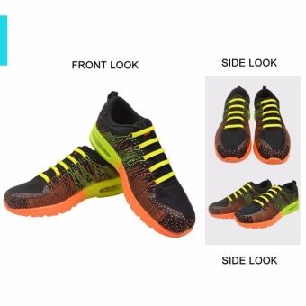 Dây giày cao su VTIE Shoelace Mặt Trơn - Màu Trắng Bộ 12 dây - 5