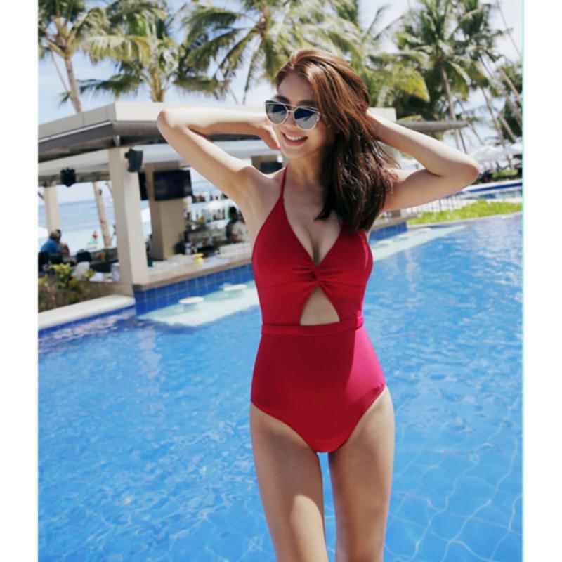 Nơi bán Đồ bơi nữ, đồ bơi nữ gợi cảm, đồ bơi liền thân cao cấp, đồ bơi liền thân Monokini màu đỏ quyến rũ thương hiệu Vingo