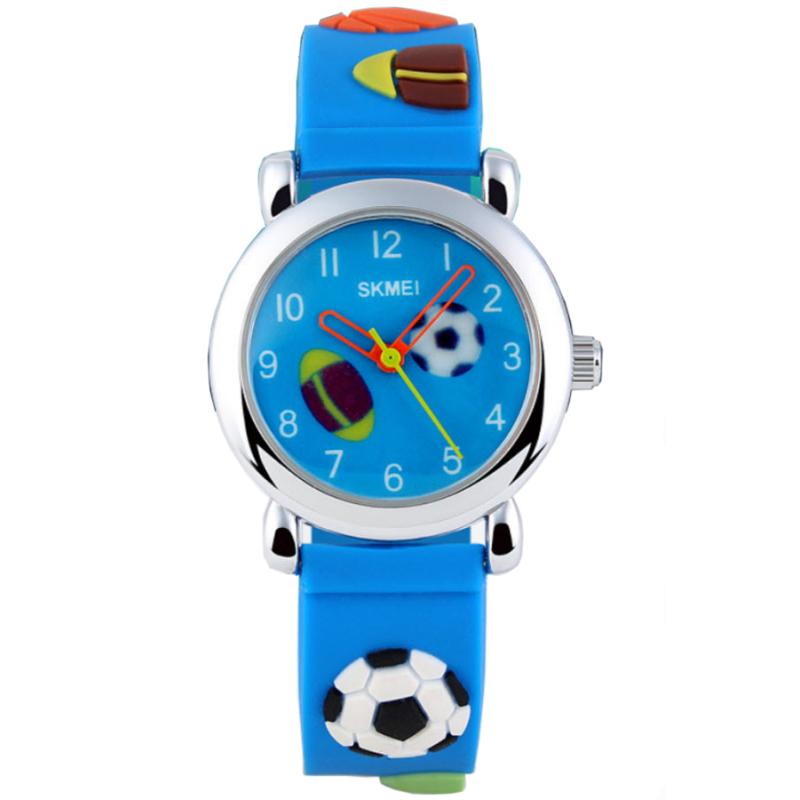 Đồng hồ bé trai dây nhựa dẻo SKMEI 1047 (Xanh) bán chạy