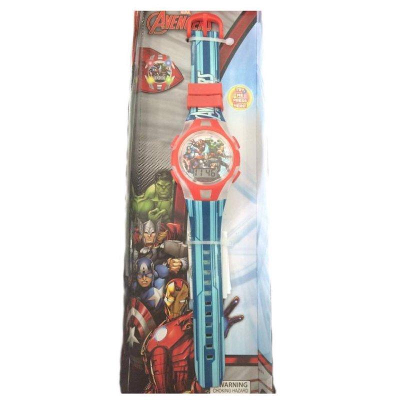 Đồng hồ bé trai dây nhựa Marvel Avengers Watch (Xanh) bán chạy