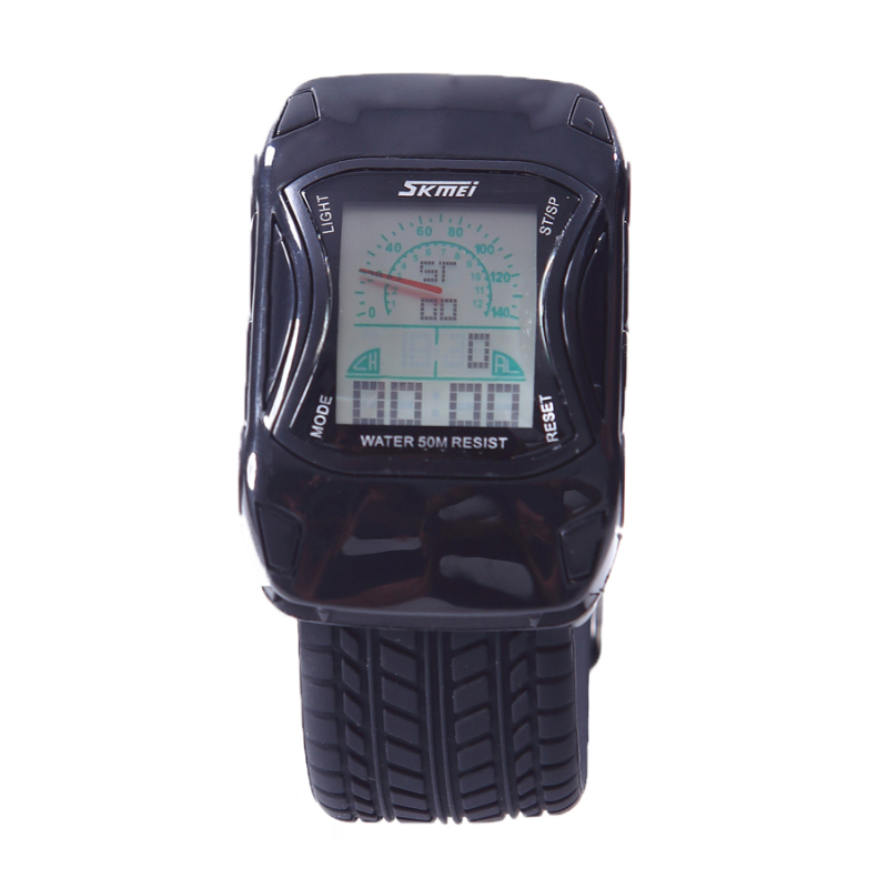 Nơi bán Đồng hồ bé trai dây nhựa Skmei 0961 (Đen)