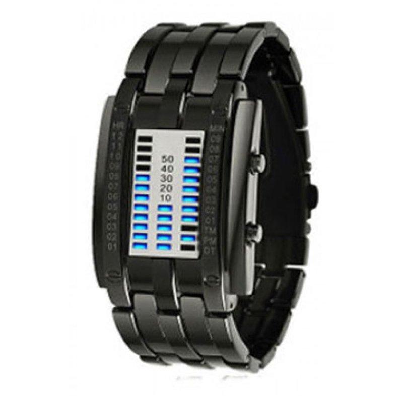 Nơi bán Đồng hồ LED dây thép không gỉ Skmei 0926L America (Đen)